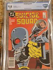 1987 D.C. Comics Suicide Squad 6 CGC CBCS 9.8. Deadshot Cover. Highest Graded.