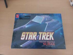 Star Trek Vulcan Shuttle SURAK plastic assembly model kit Brand New Sealed AMT