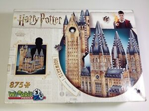 WREBBIT Hogwarts Astronomy Tower 3D Jigsaw Puzzle 875 pieces