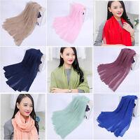 Scarfs Echarpe Long Scarves Wrap Shawl Bufandas Cachecol Foulard Hijab Bandanas