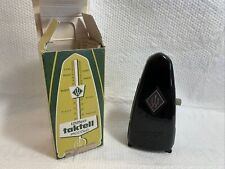 Vintage Wittner Taktell Piccolo Wind Up Mechanical Metronome West Germany