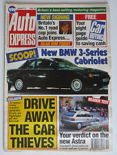 AUTO EXPRESS MAGAZINE Issue No. 158