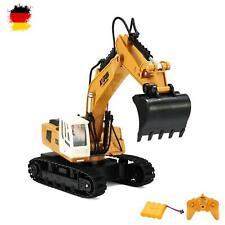 RC ferngesteuerter Raupen-Bagger, Baustellen-Fahrzeug mit Akku und Fernsteuerung