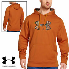 Under Armour Men's Storm Caliber Hoodie (Large) - Rodeo Orange
