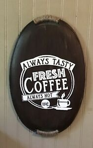 farmhouse Country coffee sign