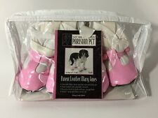 East Side Collection Parisian Pet Patent Leather Mary Janes. Pink Size Small