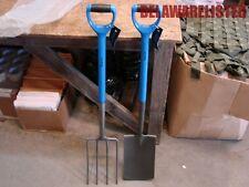 2Pc D-Handle Heavy Duty Home Outdoor Living Wyndham Spade Fork Garden Tool Set