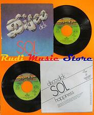 LP 45 7'' SOL Disco dick Happiness 1979 italy DERBY DBR 10217 cd mc dvd (*)