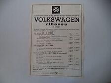 advertising Pubblicità 1963 VOLKSWAGEN