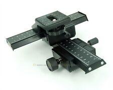 Macro Focusing Rail Slider 4-Way for Close-up Shooting