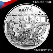 Czech Silver Coin PROOF (2010) - Director Karel Zeman - 200 CZK