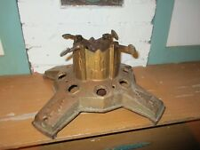 Anitque Iron Christmas Tree Stand - North Brothers, Phila Yankee No.5A