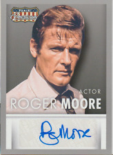 Roger Moore 2015 Panini Americana autograph auto card S-RM