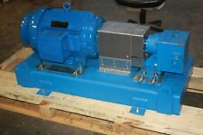 "New Viking Gp41415 2"" Crude Oil Pipeline Injection Pump 50Hp 40 Gpm @ 1500 Psi"