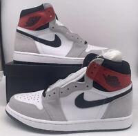 Nike Air Jordan 1 High OG Light Smoke Grey Mens Size 555088-126