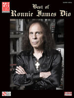 DIO GUITAR TAB / TABLATURE / **BRAND NEW** / BEST OF RONNIE JAMES DIO / SONGBOOK