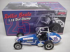 ROLLIE BEALE # 25 GLASS CITY VINTAGE METAL DIRT CHAMP OPEN WHEEL CAR 1-18 GMP
