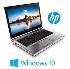 HP Laptop 8460P Elitebook Pro Intel i5 2.2ghz 4gb 80gb HD DVD Wifi Windows 10