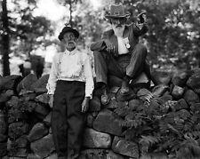 New 8x10 Civil War Photo: Veterans of the G.A.R. & U.C.V. at Gettysburg Reunion