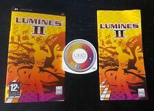 JEU Sony PSP : LUMINES II (Bvg COMPLET envoi suivi)