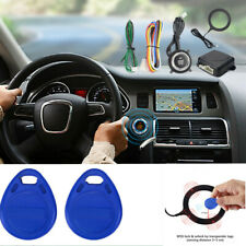 Engine Push Start Alarm Start Stop Button Remote Control Keyless Entry System