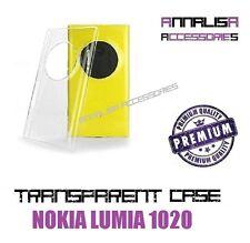 CUSTODIA TRASPARENTE NOKIA LUMIA 1020 COVER PROTEZIONE SILICONE TPU SLIM CASE
