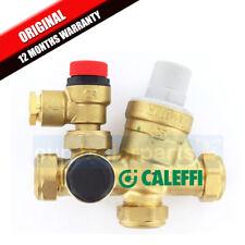 Caleffi Cold Water Pressure Reducing Relief Control Valve 533002CST 3bar / 6bar