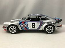 GT Spirit Porsche 911 2.8 RSR Martini Targa Florio #8 1973 Silver 1/18