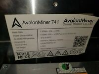 Bitcoin BTC BCH Miner with 1600W PSU ~12 TH//s CANAAN AVALON 821 A821 ASIC