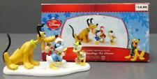 "Dept 56 Disney Mickey's Merry Christmas Village ""Pluto Sneaking Cream"" Ornament"