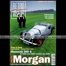 RETROVISEUR N°82 MORGAN MASERATI 300 S WILLYS STATION WAGON VANDEN PLAS RAMBLER