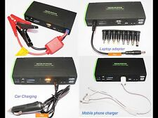 Booster Starter Starter Portable Battery Charger Moto Car Boats Smartphone
