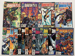 Thunderbolts 1997 series lot of 43 issues with #1