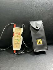 New Listingsquare D Wiggy 5009 Voltage Tester With Case Tested