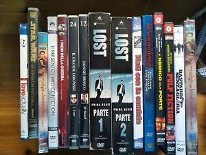 Lotto DVD Bluray Bud Spencer Tarantino Star Wars