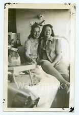 1940s Vintage  photo San Haven ND Sanatorium Lady Patient Hospital bed 4x6 SHND1