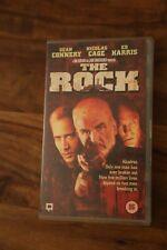 The Rock (VHS/SUR, 1997) Sean Connery, Nicholas Cage classic