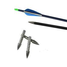12pcs Archery Arrowheads 50gr Arrow Points Insert Target Tips Field 4.2mm Shaft