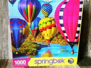 Springbok's 1000 Piece Jigsaw Puzzle Take Flight