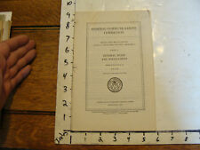FEDERAL COMMUNICATIONS COMMISSIONS, rules-telecommunication 1939 general rules
