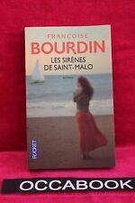 Les sirènes de Saint-Malo - Françoise Bourdin - Livre - Occasion
