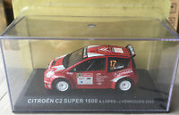 "DIE CAST "" CITROEN C2 SUPER 1600 LOPES - HENRIQUES 2005 "" RALLY DEA SCALA 1/43"