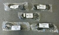 Job Lot 5 x New Sealed Dell 0H2955 Korea 6FT 2M Power Cord Cable 220V