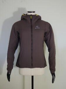 Arc'teryx Women's Brown ATOM LT HOODY Jacket Size MEDIUM