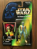 """Star Wars Power of the Force POTF2 Greedo 3.75"""" Action Figure"""