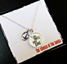 Offensive Necklace *i CaN sMeLl YoUr C*Nt *The Silence Of The Lambs* Movie Geek