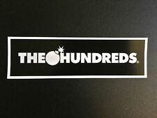 Hundreds Skateboard Sticker The Is Huge Adam Bomb Decal Logo Skate Fairfax New