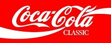 "Coca-Cola Coke Sign pop machine vinyl sticker graphic Wrap Skin 48""x 18"""