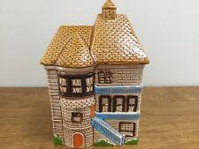 Vintage Cottage House Cookie Jar, Japan