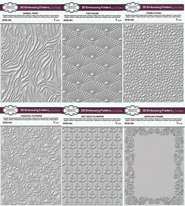 Creative Expressions - 3D Embossing Folders by Sue Wilson